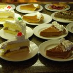 Desserts at the Harrah's buffet in Lake Tahoe, NV