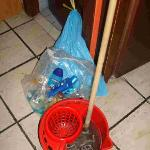  Rubbish and water afeter third cleaning