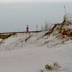 lighthouse from jetty area