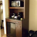 kitchen in an armoire
