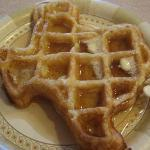 texas style waffles!