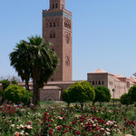 Mosque et minaret de la Koutoubia