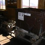  Old mining car used to haul silver ore