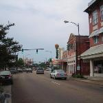 Historic downtown New Iberia.