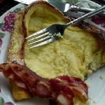  Dutch Babies with Bacon!!!