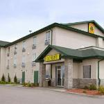 A photo of the Super 8 Motel, in Prince Albert, SK.