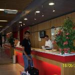 The Reception - Hotel Ibis