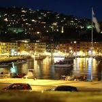 Porto San Stefano at night