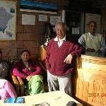 The Shah family, owners of Hotel Lake View in Nainital