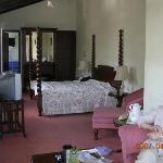 spacious room, with big bathroom and good shower