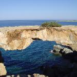 natural bridge at kavo greko