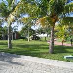 Grounds around bungalows