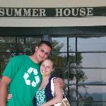 Happy/cute couple at Summer House!