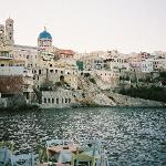 syros looking up at ipatia