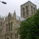 Impressive York Minister church - this view is only small portion from outside