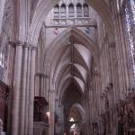 York Minster - extremely cavenous and ornate inside