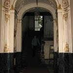 Entry hall, complete with gilded motifs