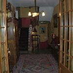 Inside the Main Building - Upstairs is Rooms; Downstairs is the Restaurant.