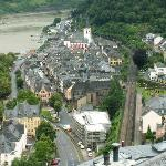 St Goar, from Castle Rhienfels