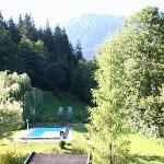 Garden and Wilder Kaiser view