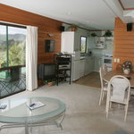  Interior of Capeview Cottage, Opotiki, New Zealand