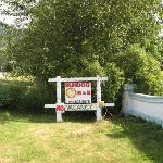 Sundod B&B Welcome Home Sign