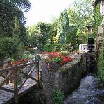  The moulin and gardens