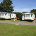 Our two caravans