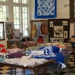 Inside the Latimer Quilt Center
