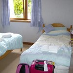 Double room with single bed
