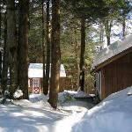 Stowe Cabins in the Woods Foto