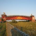 The Grand Archway at Kearney Nebraska