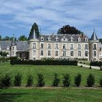 back of the chateau