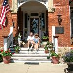Steamboat House front porch