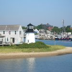 Hyannis harbor, veiwed from the ferry