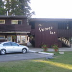  Side shot of the Village Inn showing the office