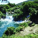 One of the falls at Krka.