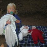  Granddaughter camping