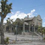 DON'T PANIC! This isn't the Exchange Club, but the abandoned railway station at Rhyolite
