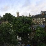 Lambeth Road and Parliament Buildings from 5th floor