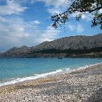 Beach in Baska