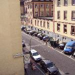 Another view of side street from hotel room