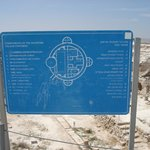  Signage explaining layout of Herodion