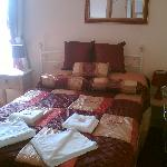 The lovely room - great bed!!!!