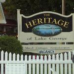 Foto de Heritage of Lake George Motel