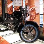 Static display HD York PA visitors center, finished bike!