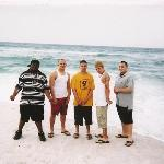  ME, Alex, Josh, Steve, and Ben. Adrian, MI boyz down in PCB 07