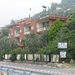  Front view of Hotel Castelli