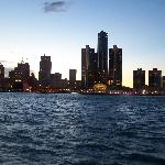 Motor City at Sunset.  Beautifu Pic