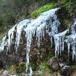 Ice on the way to Geres